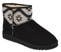 Boots, gefüttert, Ethno-Look