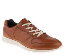 Sneaker, Leder, Lochmuster