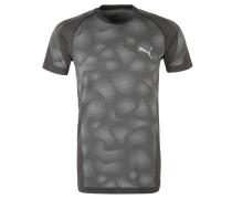 T-Shirt, Strick, atmungsaktiv, leicht, für Herren, Grau
