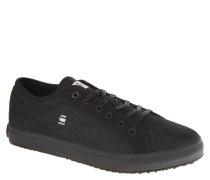 """Sneaker """"Kendo"""", Canvas, einfarbig, Gummisohle, Schwarz"""