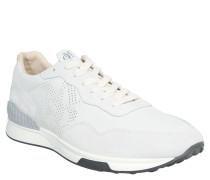 Sneaker, Leder, herausnehmbare Einlage, Weiß