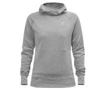 """Sweatshirt """"High Coast"""", meliert, Kapuze, für Damen, Grau"""