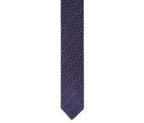 Krawatte, reine Seide, grafisches Muster