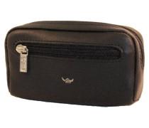 Palermo Schlüsseletui, Leder, schwarz, Schwarz