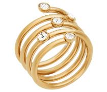 """Ring, """"BRILLIANCE"""", Edelstahl, goldfarbend, MKJ5537710"""