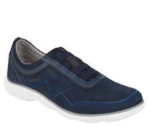 Sneaker, Veloursleder, Wechselfußbett