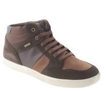 Sneaker, Materialmix, atmungsaktiv, Wechselsohle