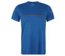 T-Shirt, atmungsaktiv, schnelltrocknend, für Herren, Blau