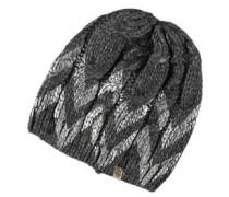 Mütze, Zopf-Muster, Glanz-Elemente