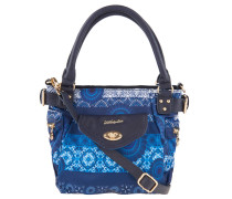 "Handtasche ""Barbados"", abnehmbarer Schulterriemen, Blau"