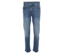 "Jeans ""Cooper"", Regular Fit, Baumwoll-Stretch, Blau"