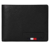 "Brieftasche ""Mini"", Rindsleder, Logo-Patch"