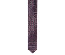 Krawatte, reine Seide, geometrisches Muster