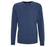 Pullover, V-Ausschnitt, Wollanteil