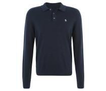 Poloshirt, Baumwolle, Blau