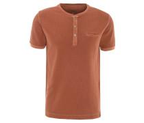 T-Shirt, Baumwolle, Henley-Ausschnitt, Brusttasche