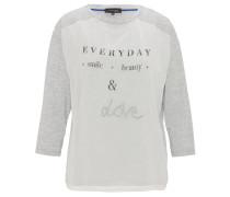 Shirt, 3/4 Arm, Print, Jersey, Rundhalsausschnitt