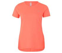 Sport-Shirt, schnelltrocknend, für Damen, Orange