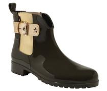Gummistiefel, Chelsea Boots-Stil, wasserdicht, Elastik-Einsatz