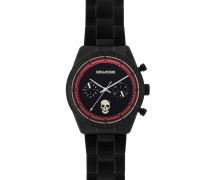 Armbanduhr ZVM123, Schwarz