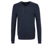 Pullover, Rippstruktur, V-Ausschnitt