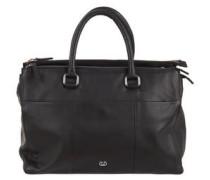 Handtasche, Leder, abnehmbarer Schulterriemen