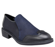 Schuhe, Business-Slipper, Schwarz