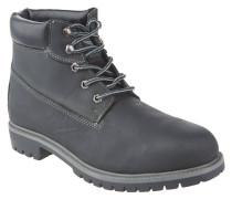 Boots, Leder, Schnürung, gepolsterter Schaft, 31082