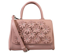 """Handtasche """"Tyra"""", Blütendekor, Nieten, Rosa"""