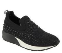 "Sneaker ""Drena"", Strass-Verzierung, gepolstertes Fußbett"