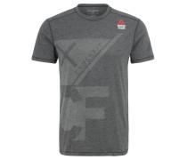 """T-Shirt """"Burnout"""", Logo, für Herren, Grau"""