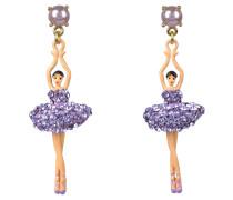 "Ohrringe ""Toe-dancing"", ABDDL115T/1, Ballerina, handbemalt"
