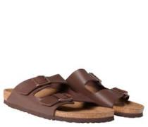 "Pantoletten ""Arizona"", Leder-Optik, anatomisch geformtes Fußbett"