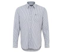 Freizeithemd, Regular Fit, Kent-Kragen, Grau