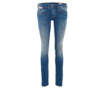 "Jeans ""Piper Slim"", Damen, Slim Fit, Ziernähte,"