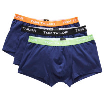Pants, Logo-Schriftzug, 3er-Pack