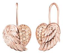 Ohrhänger Herz-Flügel rosevergoldet ERE-HEARTWING-ZI-R