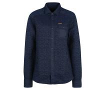 Jeans-Hemd, Brusttasche, Blau
