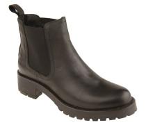 Chelsea Boots, uni, Profilsohle, Blockabsatz