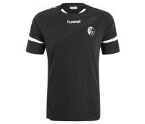 """SC Freiburg T-Shirt """"Authentic Charge Training"""", Schwarz"""