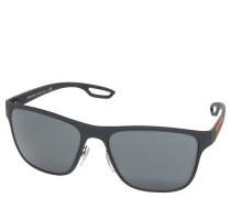 """Sonnenbrille """"SPS 56Q"""", trapezförmig, mit Brillenband"""