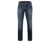 "Jeans-Hose ""NEVIO-10"", Used-Waschung, Stretch, Blau"