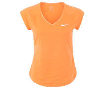 "COURT T-Shirt ""Pure"", atmungsaktiv, für Damen, Orange"