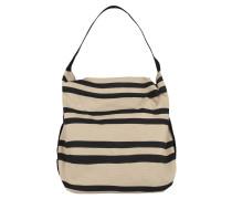 Handtasche, Baumwolle, geflochtener Schulterriemen, Mehrfarbig