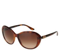 """Sonnenbrille """"VE 4324-B"""", Havanna-Design, Strass-Elemente"""