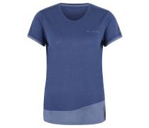 """T-Shirt """"Sveit"""", schnelltrocknend, mit Wollanteil, für Damen, Blau"""