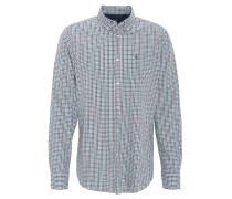 Hemd, kleinkariert, Regular Fit, Button-Down-Kragen
