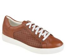 "Sneaker ""Lilli"", Leder, Lochmuster, Schnürung"