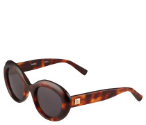 Sonnenbrille, Havanna-Optik, Cat-Eye-Design