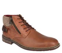 Stiefel, Leder, Reißverschlussdetails